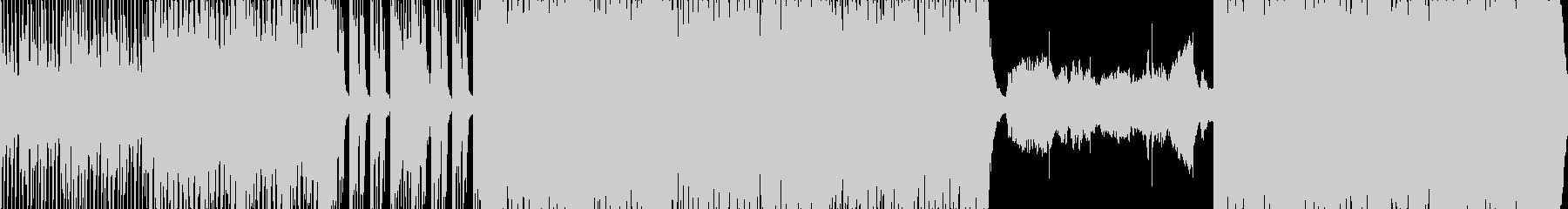 ダンサブルな和風三味線曲ループの未再生の波形