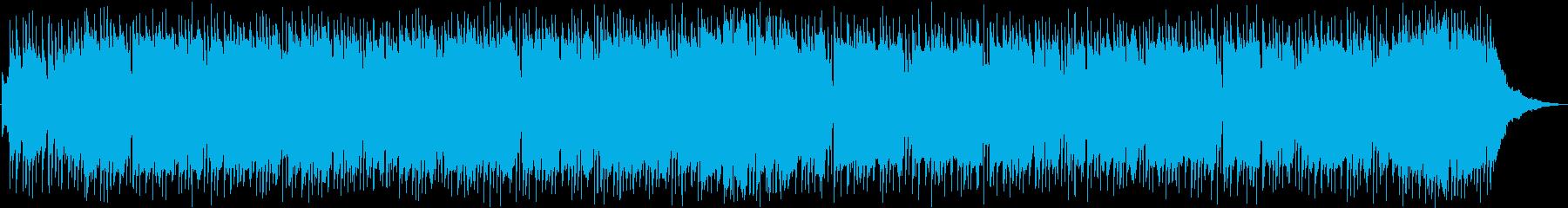 ラヴェルのボレロ レゲエ調アレンジの再生済みの波形
