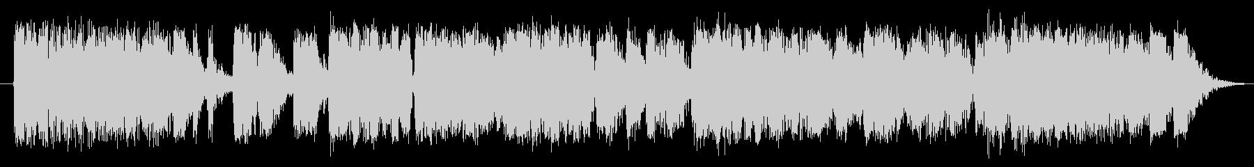 ガチョウ ガチョウの鳴き声03の未再生の波形