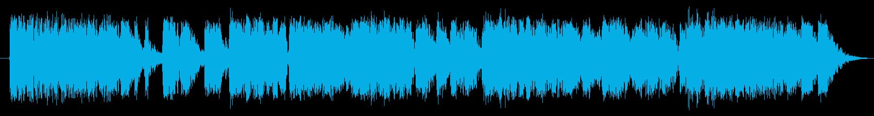 ガチョウ ガチョウの鳴き声03の再生済みの波形