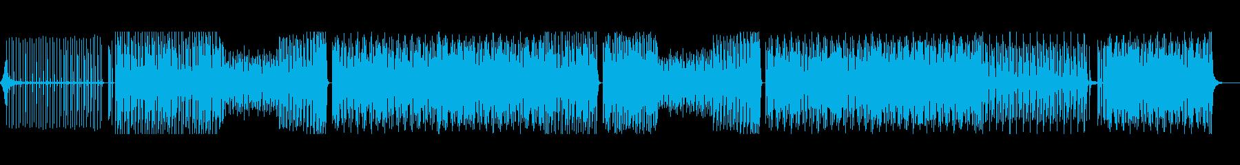 レゲトン 夏 ビーチ ナイトクラブの再生済みの波形