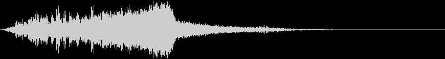 宇宙・近未来の効果音(通信、電子音)の未再生の波形