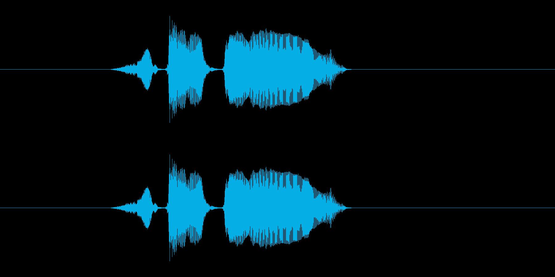 スタートーの再生済みの波形