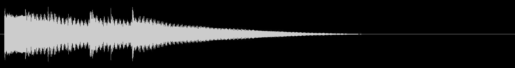 王道RPG5 レアカード レベルアップの未再生の波形
