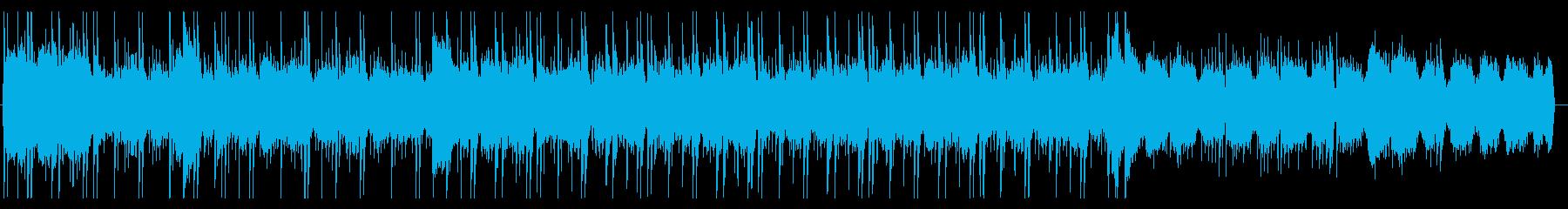 おしゃれでゆったりしたチルホップ調BGMの再生済みの波形