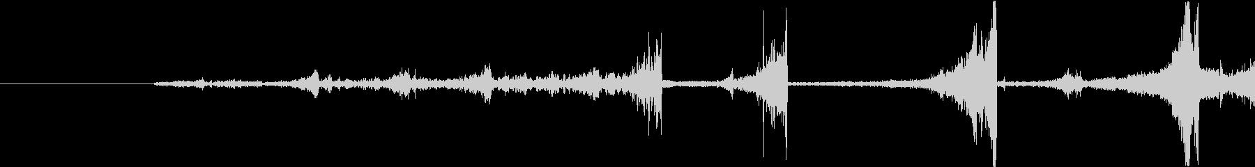 Zap 巻き戻し音・ザップ効果音 2の未再生の波形