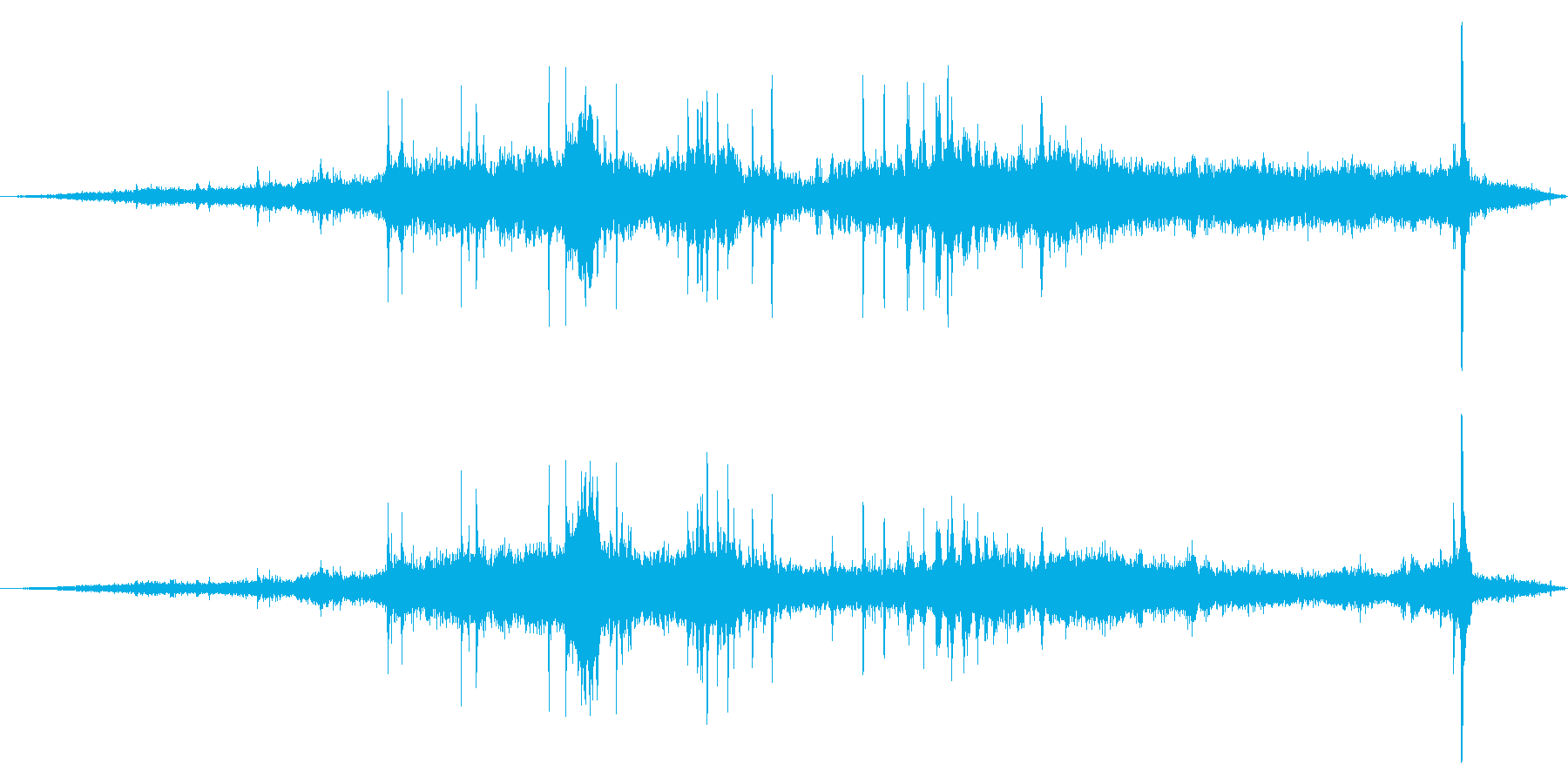 電気旅客列車:内線:アプローチ、駅...の再生済みの波形