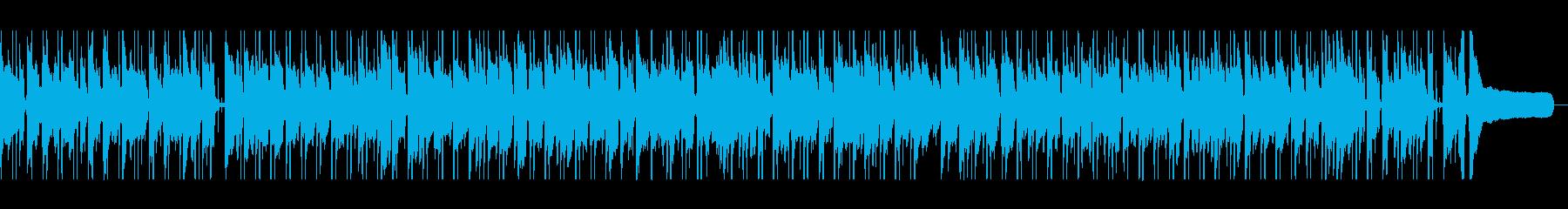 軽やかでさわやかなボサノバの再生済みの波形