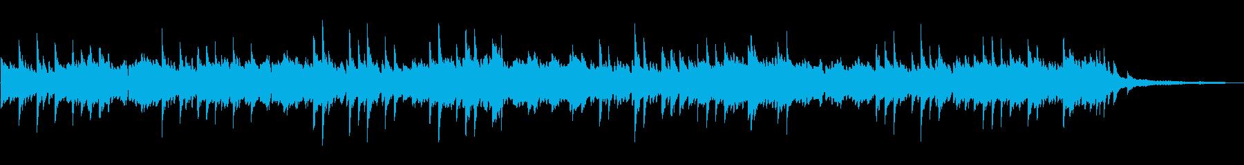 優しい日常的な ピアノソロの再生済みの波形