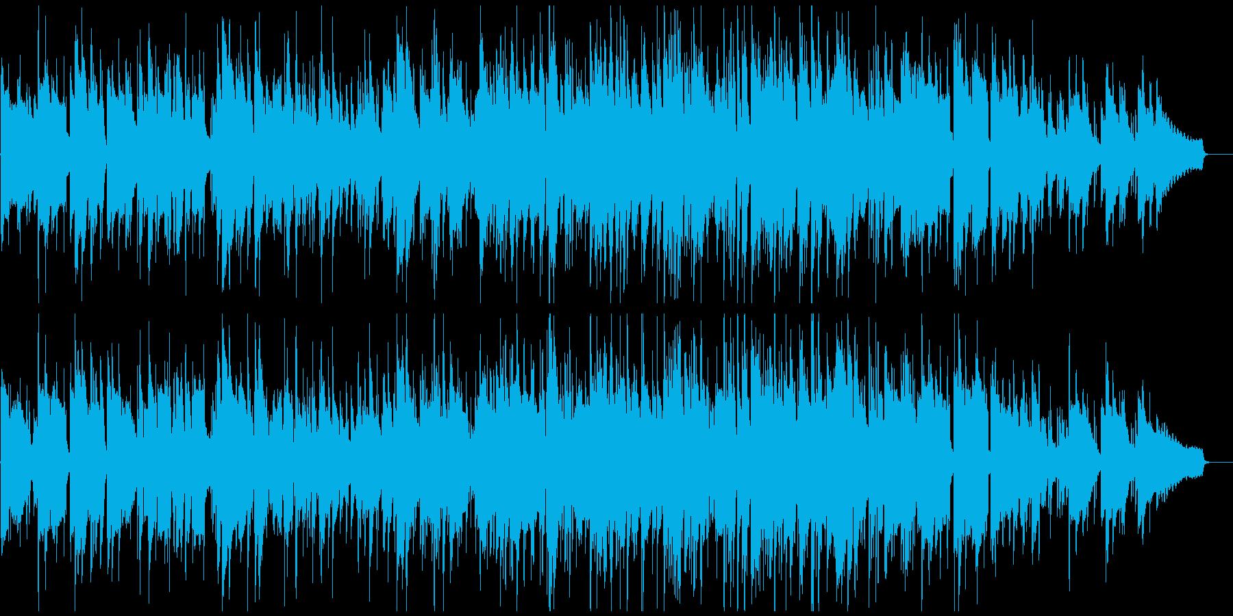 北欧系の綺麗なジャズ、ゆったり、スマートの再生済みの波形