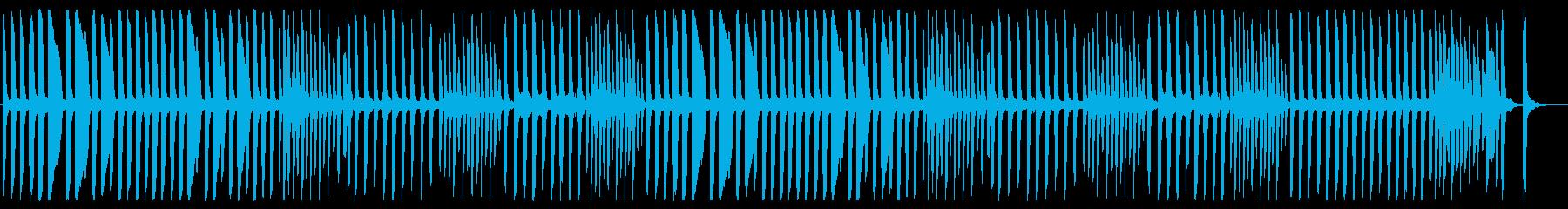 独特なリズムで弾むメロディーの再生済みの波形