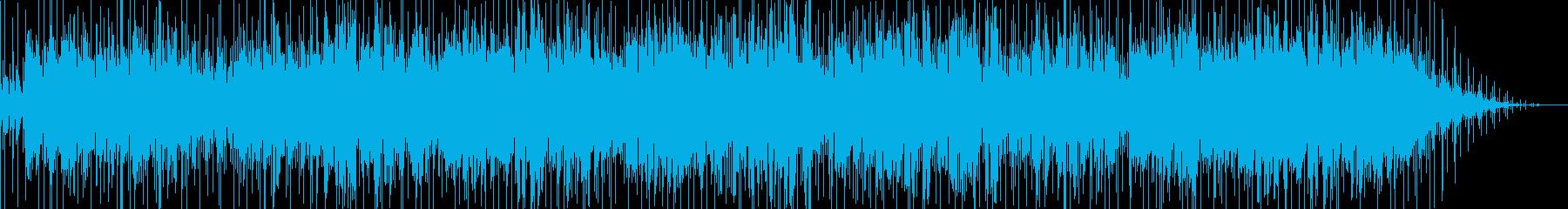 ブラスバンドが印象的な洋楽風ポップスの再生済みの波形