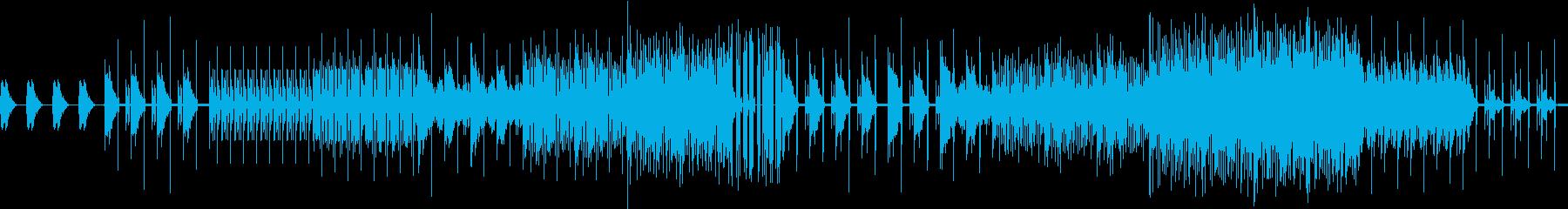 ドライブに最適なダンスミュージックBGMの再生済みの波形