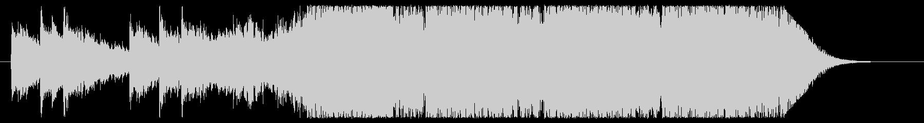 夜のネオンを連想させる近代的な音楽の未再生の波形