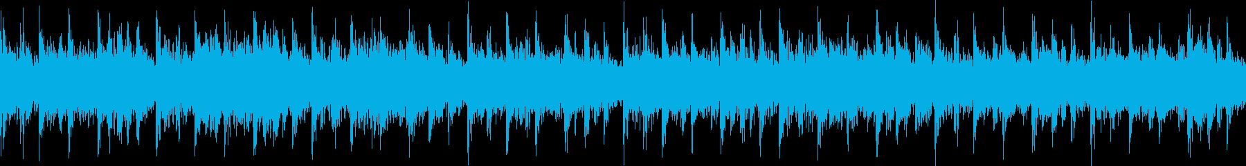 荒々しいカオスなテクノループです。の再生済みの波形