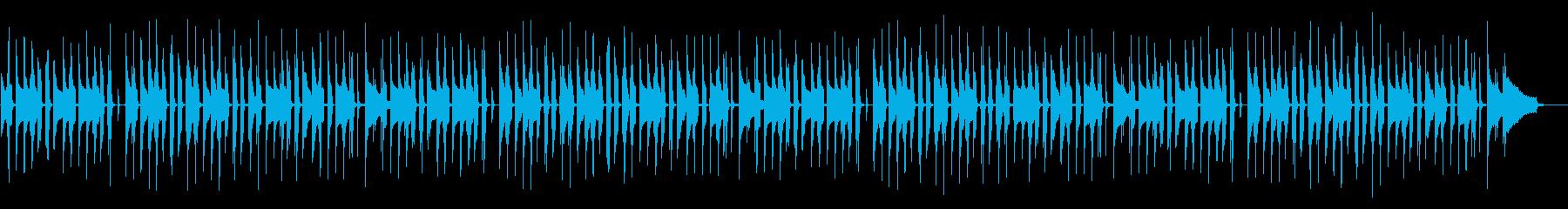 日常パートや探索パートの曲の再生済みの波形