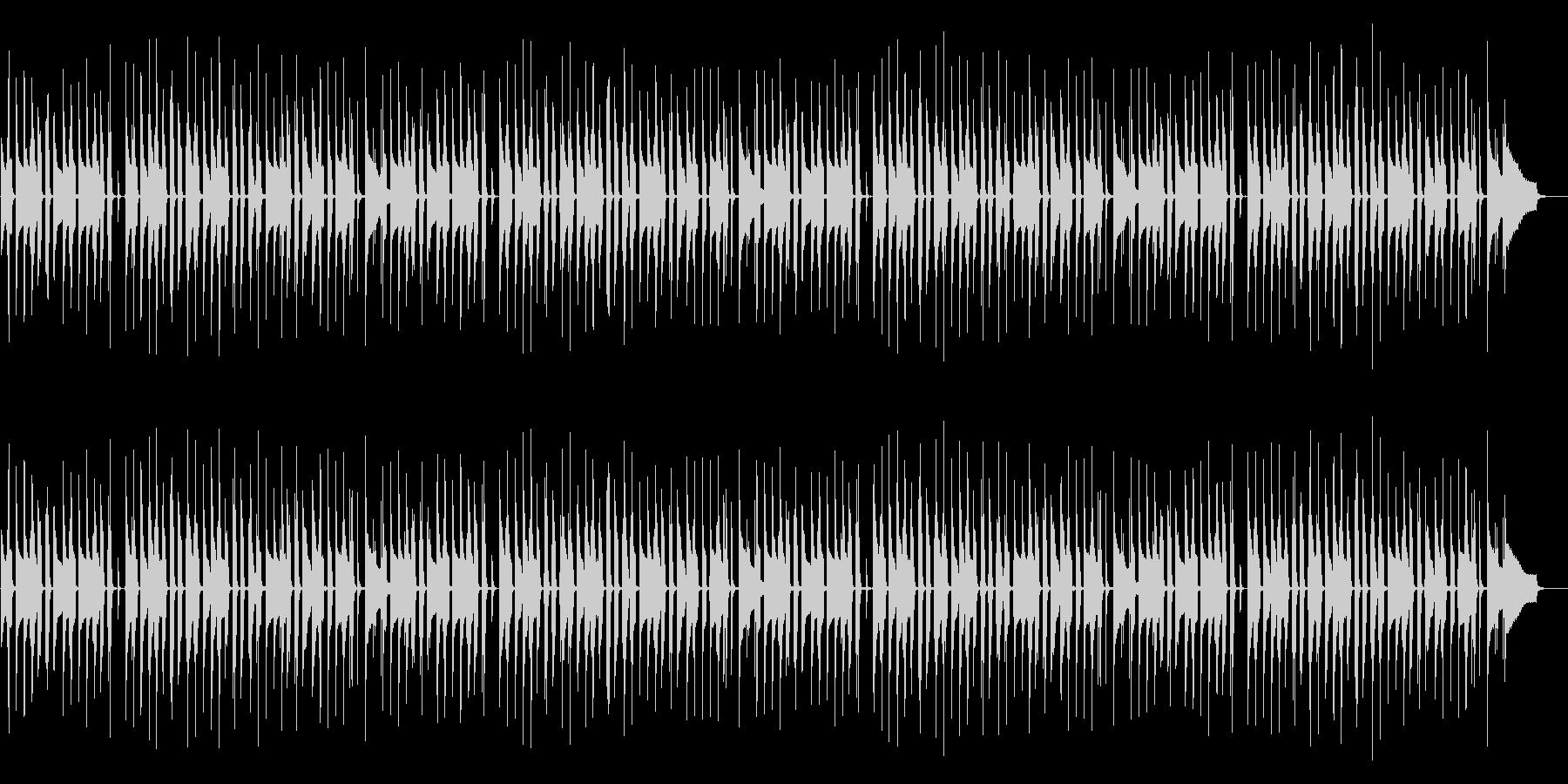 日常パートや探索パートの曲の未再生の波形