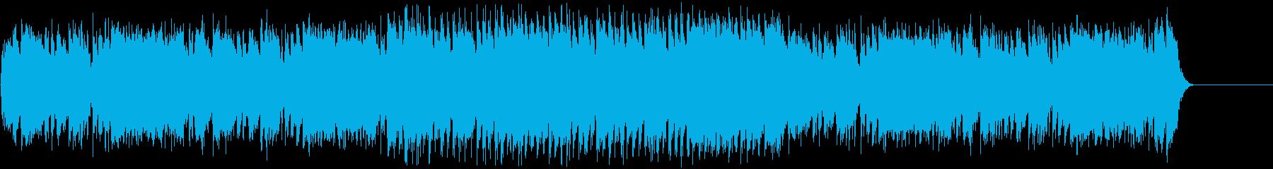 CM・エキサイティングな夏の海・レゲエの再生済みの波形
