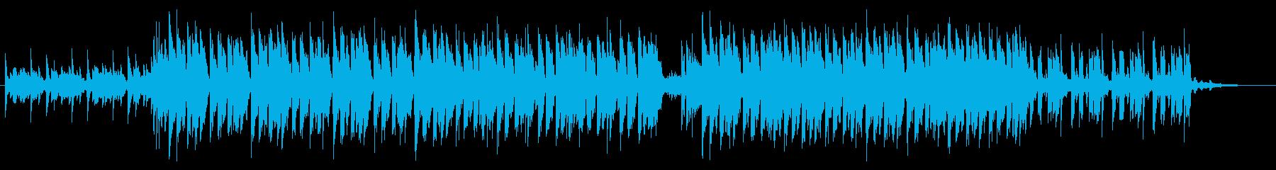 子供の声とやんちゃBEAT。の再生済みの波形