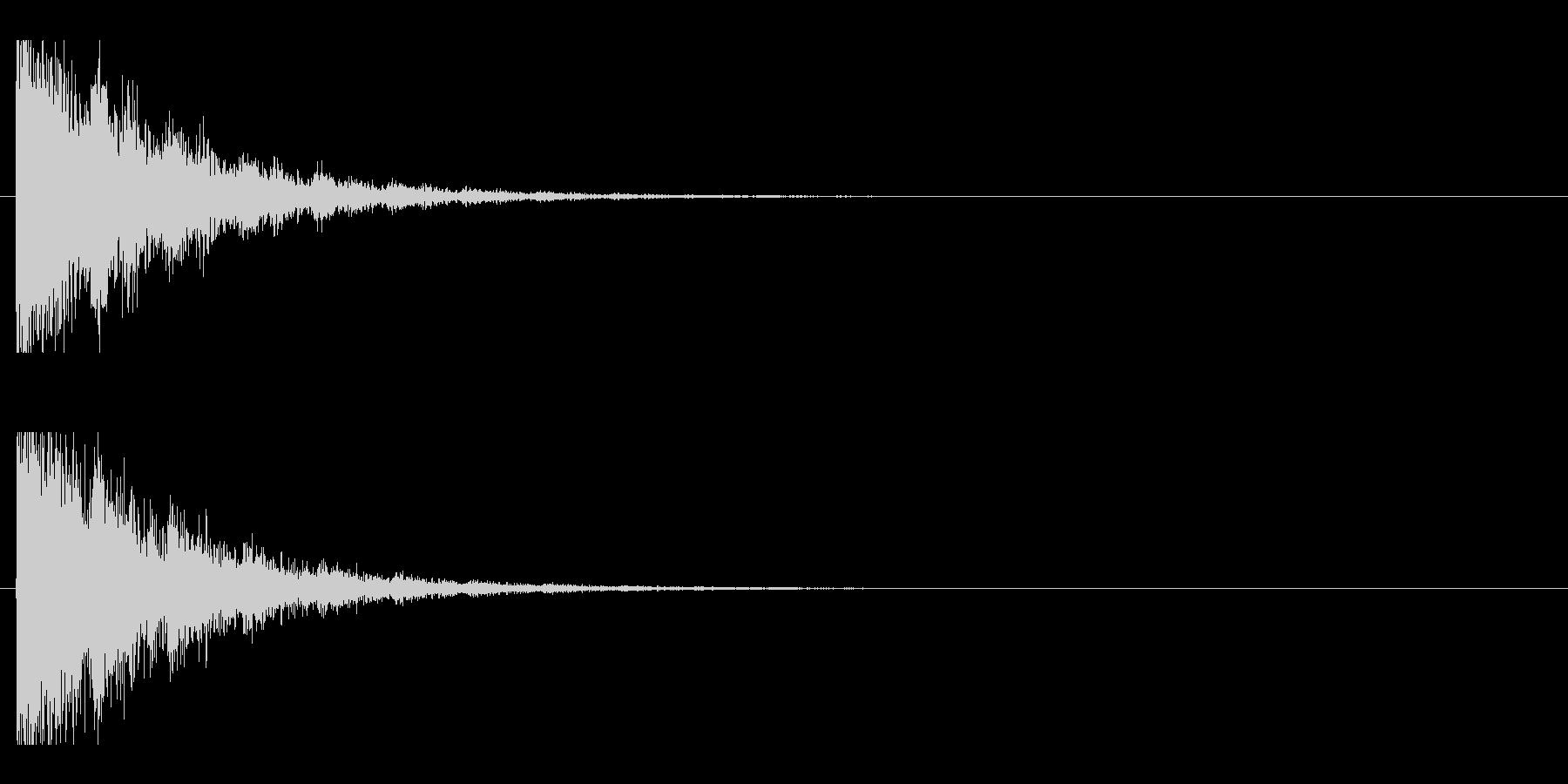 レーザー音-143-2の未再生の波形