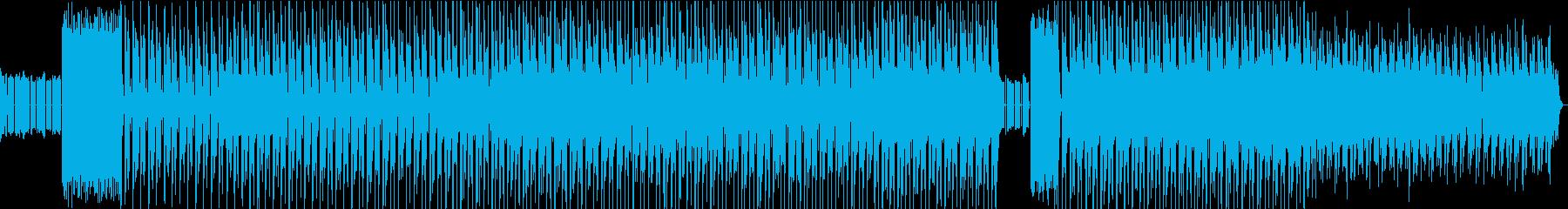 コミカルなサウンドが楽しいエレクトロニカの再生済みの波形