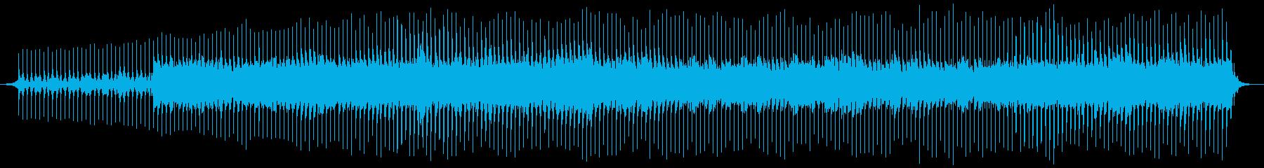 ポップ テクノ 緊張感 暗い ホラ...の再生済みの波形