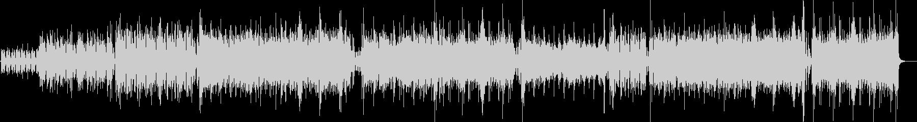 ピアノのリフが印象的なエレクトロの未再生の波形
