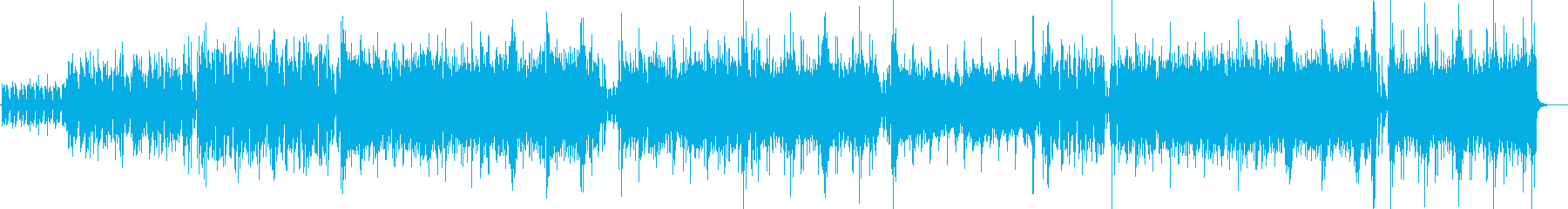 ピアノのリフが印象的なエレクトロの再生済みの波形
