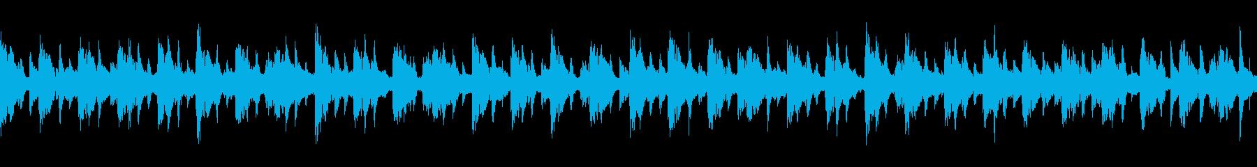 不思議なシンセループです。の再生済みの波形