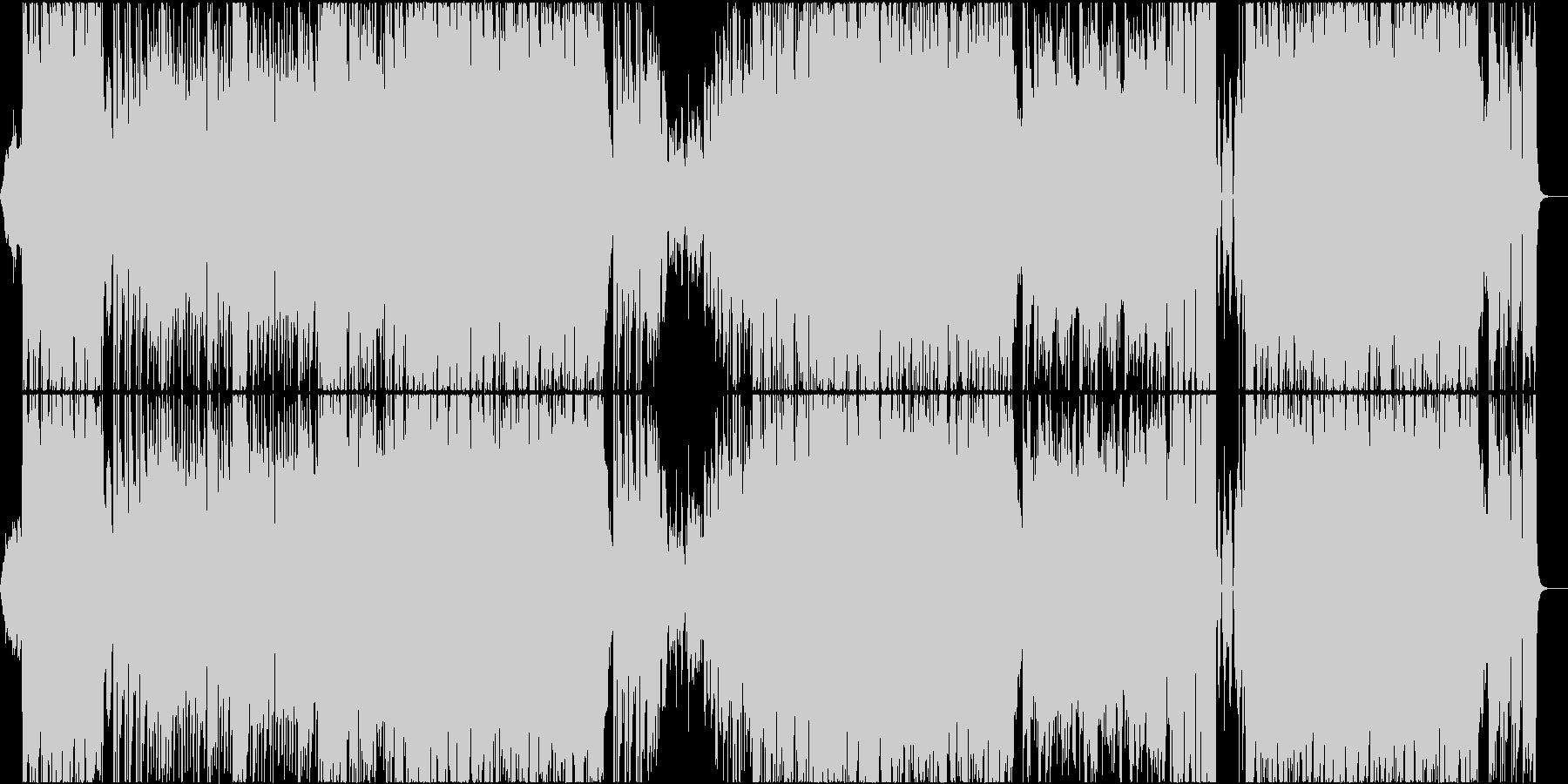 女性ボーカル/切な系ダンスポップの未再生の波形