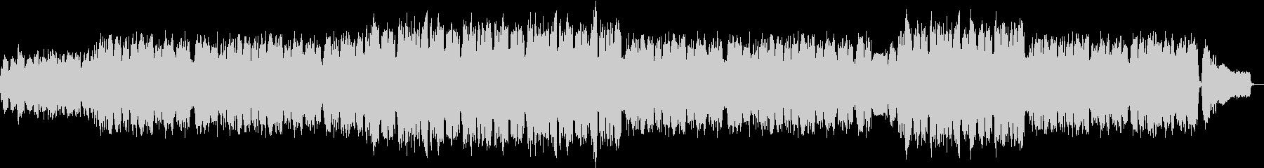 クラシック風弦楽4重奏のセレモニー曲の未再生の波形