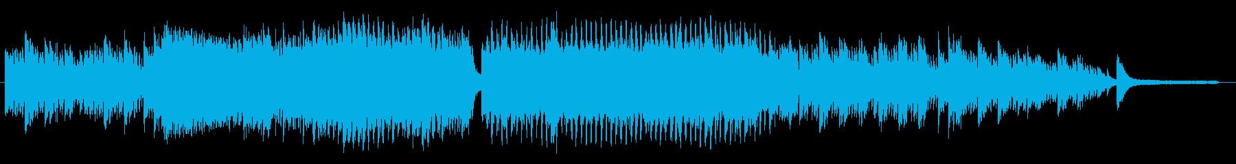 壮大感のあるバラード(和風)の再生済みの波形