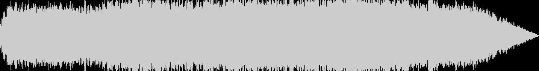 大団円的なBGMの未再生の波形