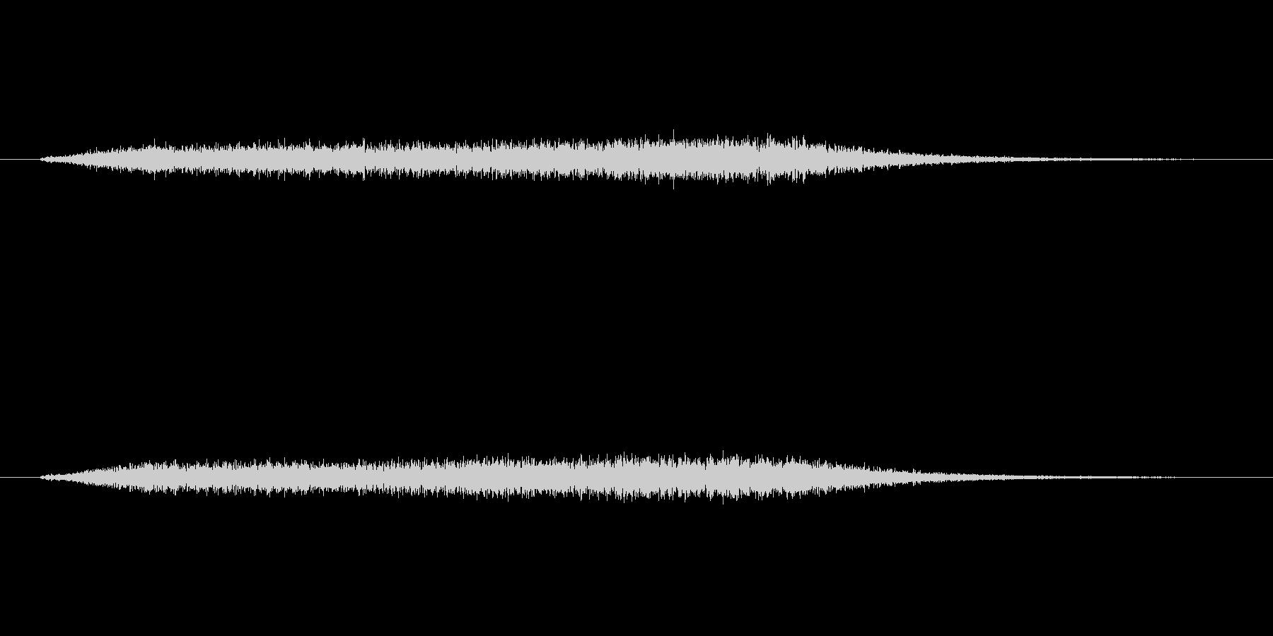 高めのほわーんとしたノイズです。の未再生の波形