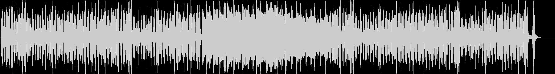 ノリ良いピアノとピッコロのかわいいBGMの未再生の波形
