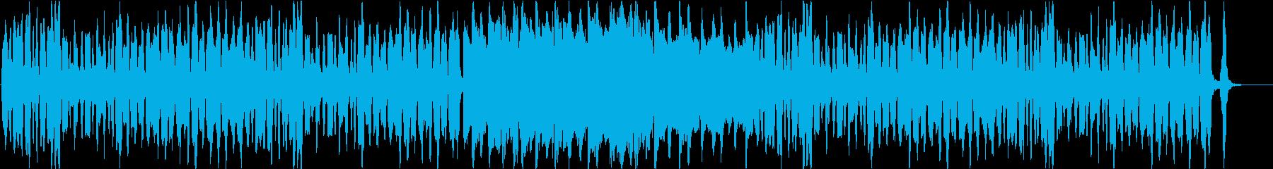 ノリ良いピアノとピッコロのかわいいBGMの再生済みの波形