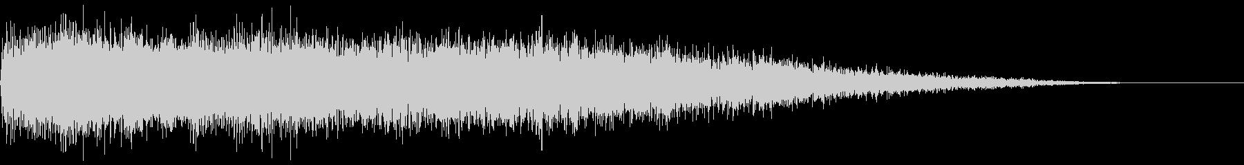 【ビシュイーン】魔法系効果音の未再生の波形