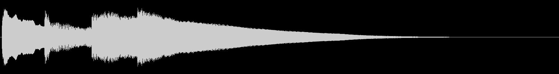 アナウンス前 チャイム-5_rev-1の未再生の波形