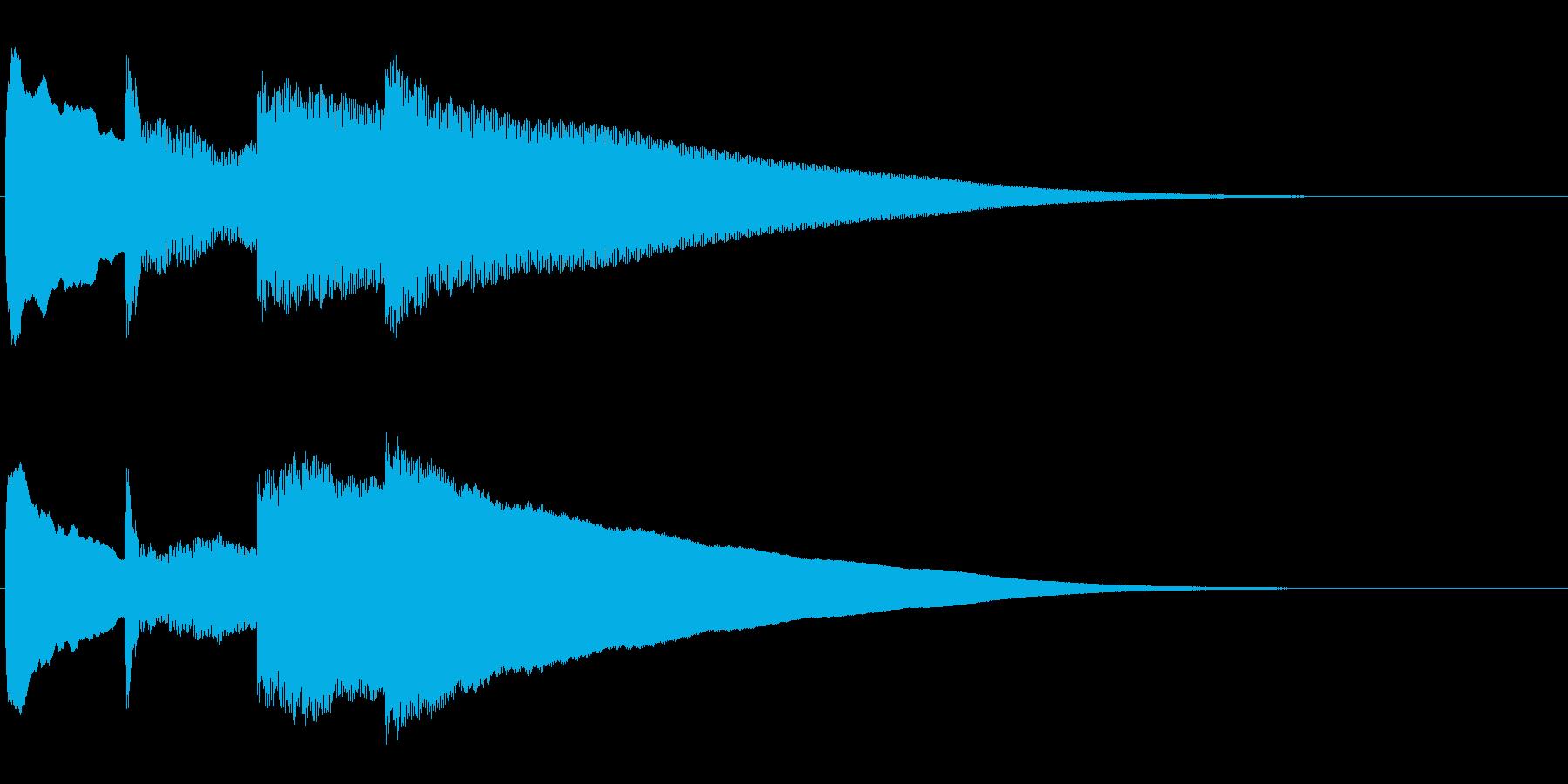 アナウンス前 チャイム-5_rev-1の再生済みの波形