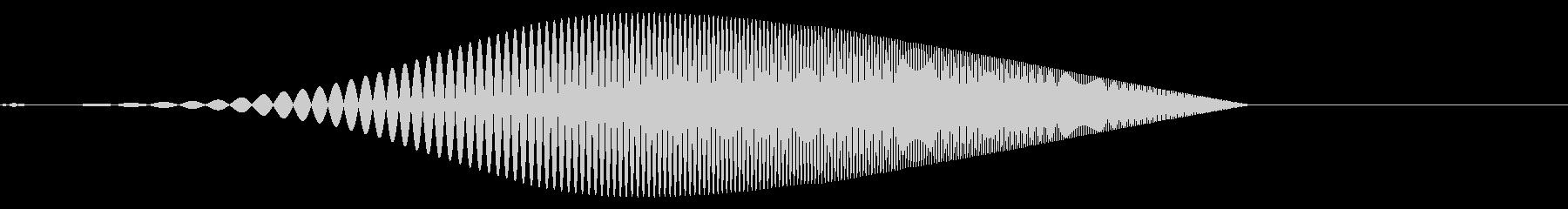 Tool プレゼン映像向け動作SE 3の未再生の波形
