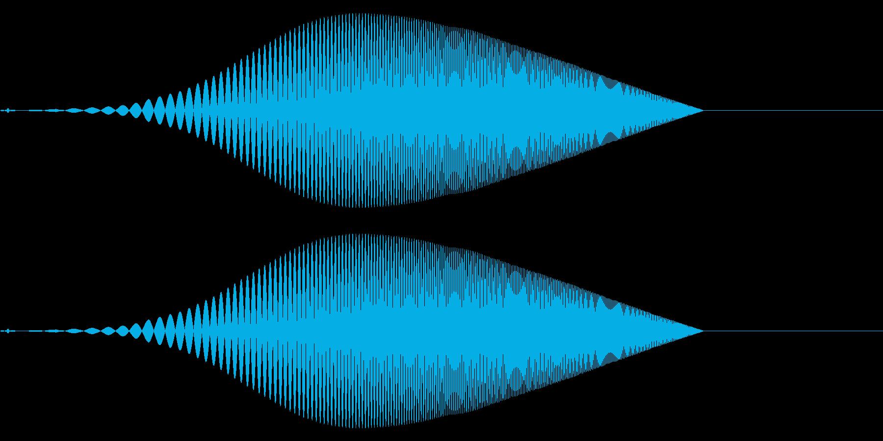 Tool プレゼン映像向け動作SE 3の再生済みの波形