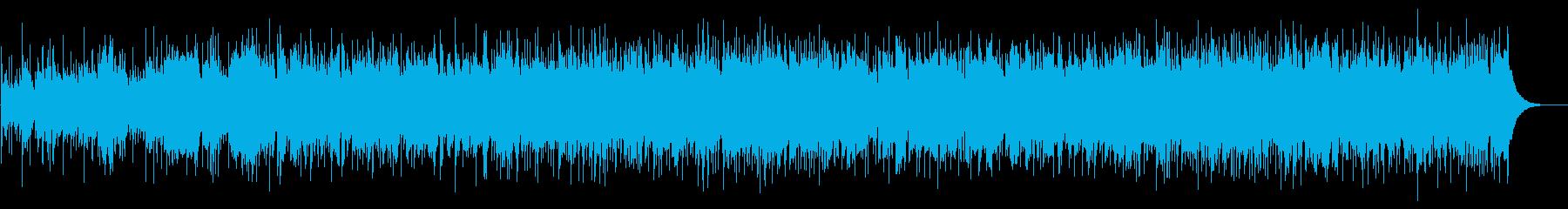 自然環境に良くなじむアイリッシュ風BGMの再生済みの波形