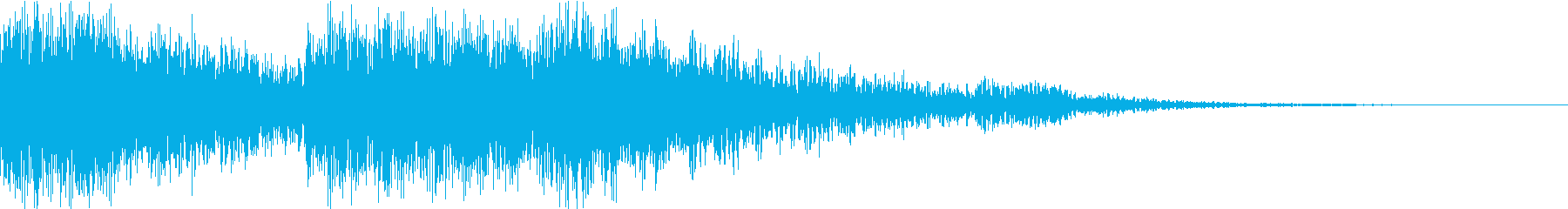Sound logo, dynamic movie music style's reproduced waveform