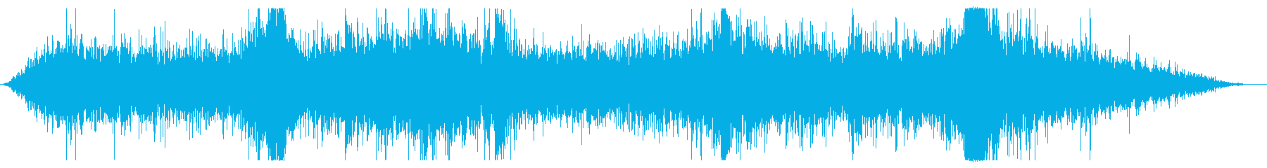 中規模地震:中規模破壊と岩盤スライドの再生済みの波形