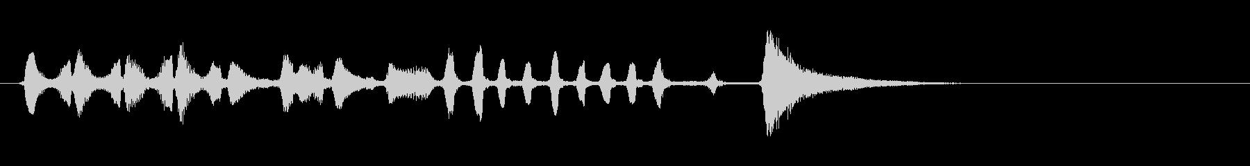 【生演奏】アコーディオンジングル04の未再生の波形