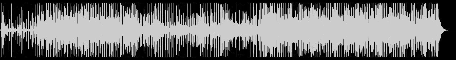 洋楽POPSなBGM、チルビートの未再生の波形