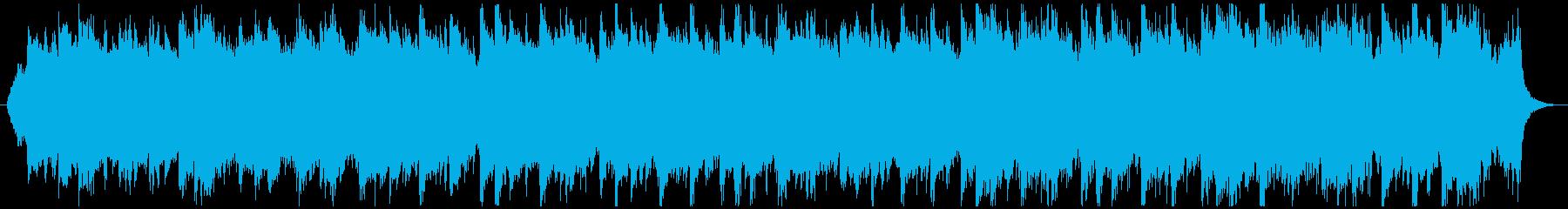 【ボーカルなし】美しい感動的バラードhの再生済みの波形