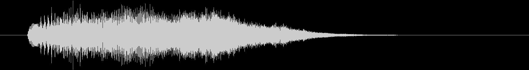 キラキラアルペジオ2の未再生の波形