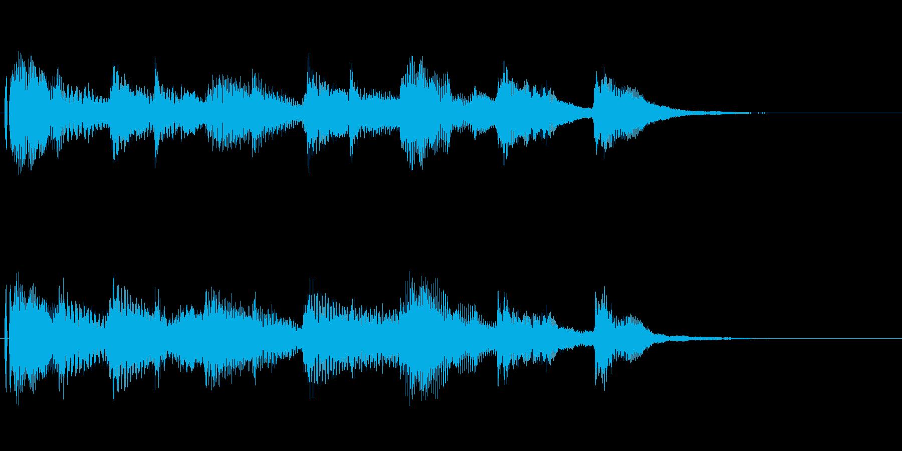 オープニング用ジングル110/ロングの再生済みの波形