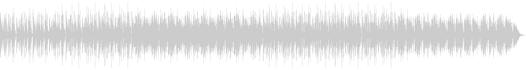 明るめのドラムンベースの未再生の波形